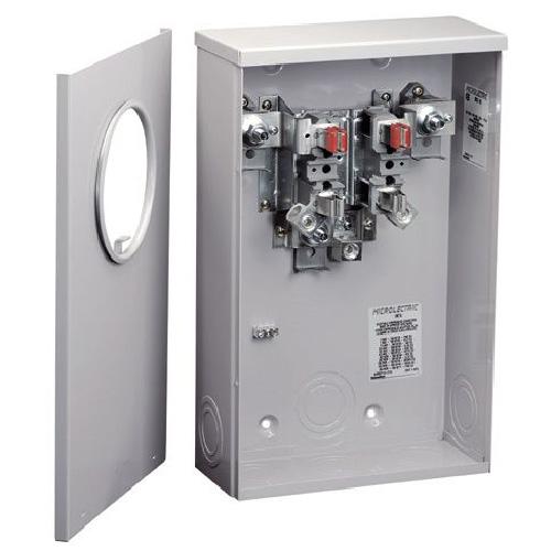 Meter Socket - Single - Underground - 200A - 600V