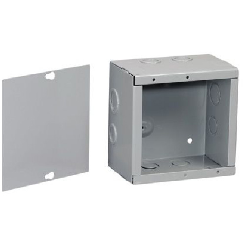 "Enclosure - Metal - 10"" x 10"" x 4"""