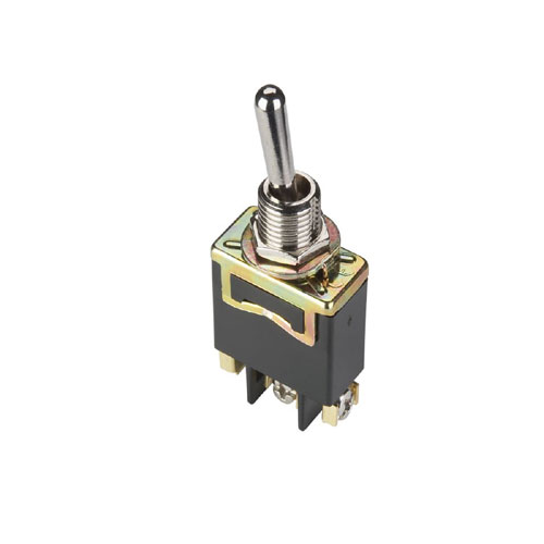 Single Pole Toggle Switch - 20A/125V 10A/250V - Nickel