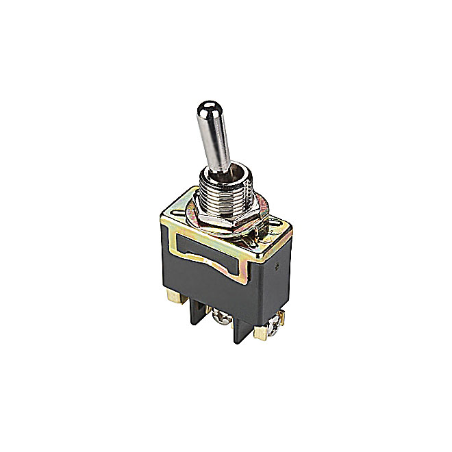 Toggle Switch - 20 A x 125 V or 10 A x 250 V - Nickel