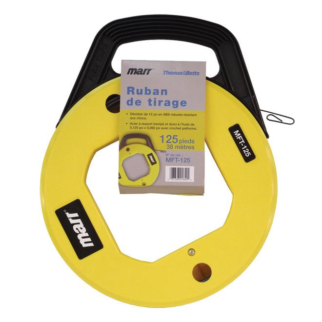 """Fish Tape -  1/8"""" x 125' - Yellow"""