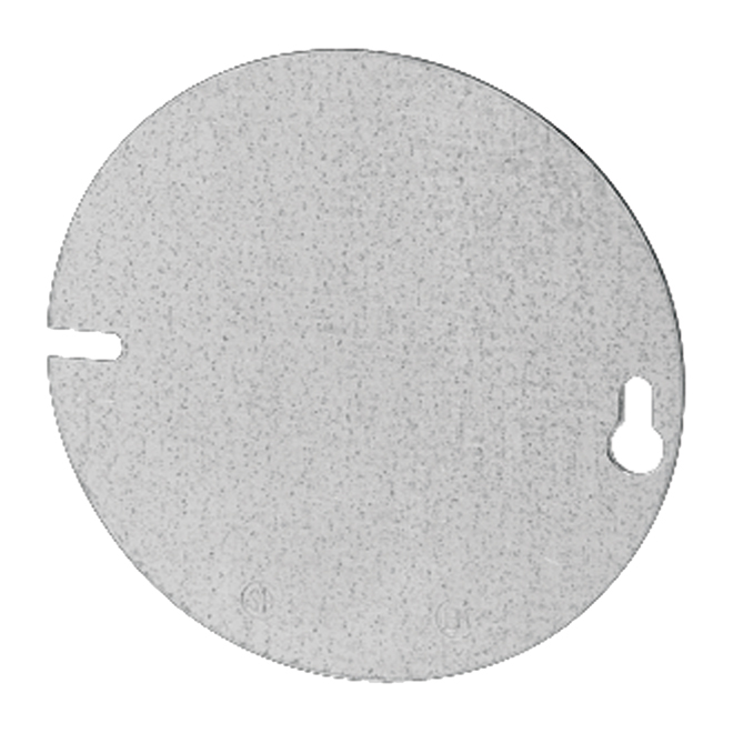 "Box Cover - Round - Blank - Flat - 4"" - 50/Pk"