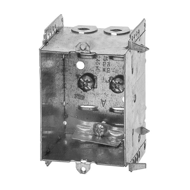 "Device Box - Non - Gangable - 2 1/2"""