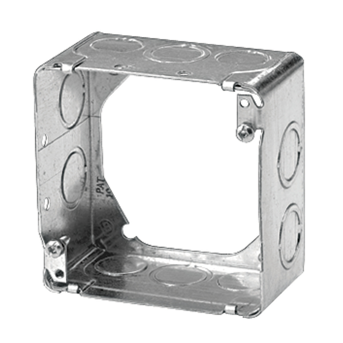 Square Box Concentric Knockouts - Steel - 4'' x 2'' x 1/8''