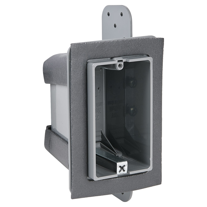 "Device Box - Airtight-Plastic - 1-Gang-2 3/4"" - 24/Pk"