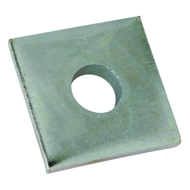 """Raccord carré Thomas & Betts en acier, 1,5"""" x 0,25"""", 20/pqt"""