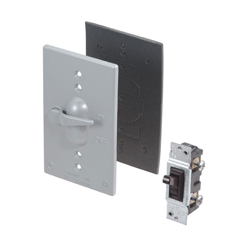 Toggle Switch Cover >> Toggle Switch And Cover Weatherproof 15a 125v