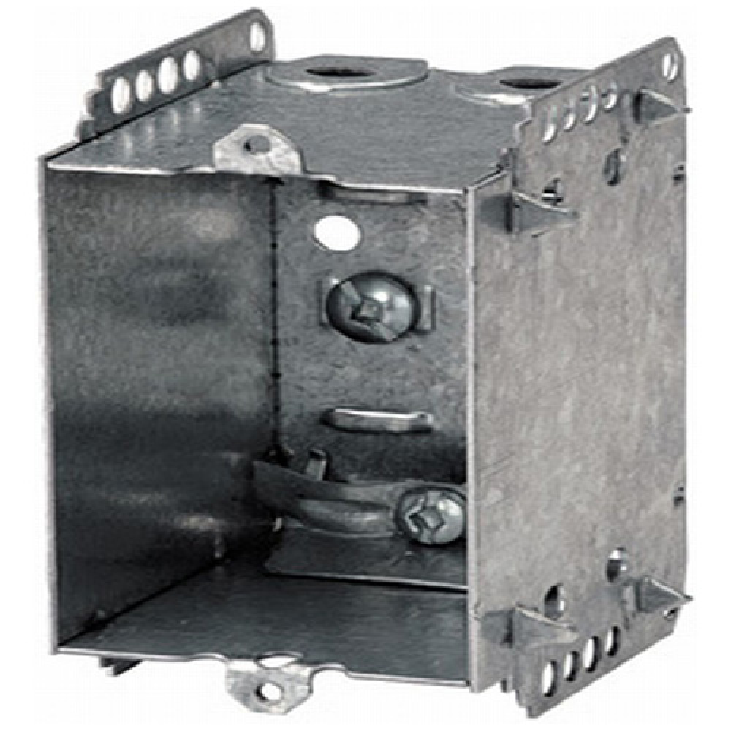 Boîte pour appareil Iberville, acier, 2 1/2 po, paquet de 6