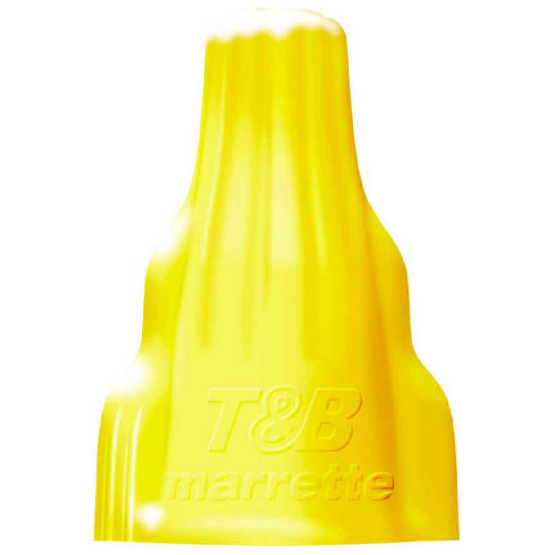 Wing-Type Wire Connector - Yellow - 100-Pack