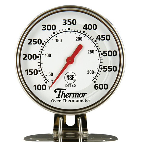 Oven Thermometer - Stainless Steel - 50 °C to 300 °C