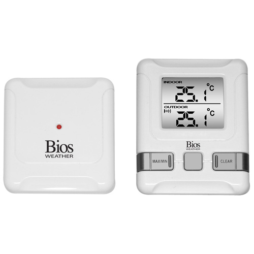 Thermometre intérieur et extérieur numérique