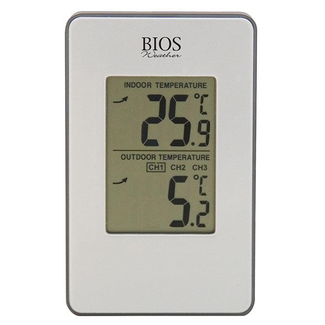 Thermomètre intérieur et extérieur numérique