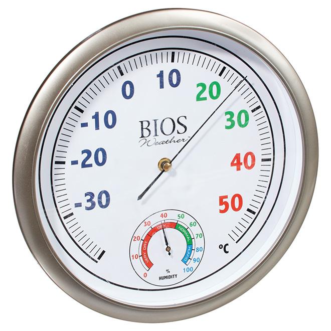 "Thermomètre/Hygromètre 11.75"""