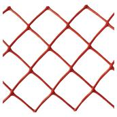 Warning Fence - Plastic - Diamonds - 4' X 50' - Orange