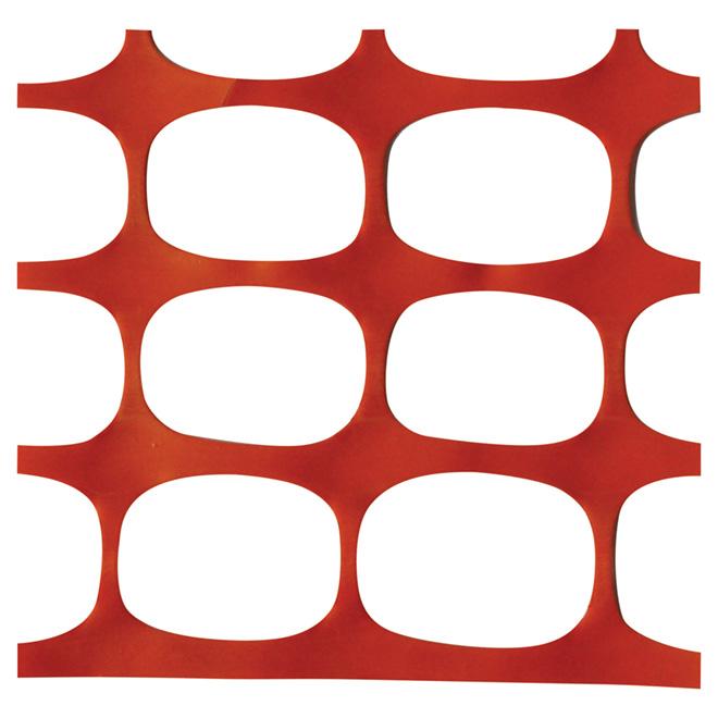 Warning Fence - 4' x 50' x 160g - Orange