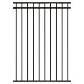 Steel Fence - 60'' x 48'' - Black