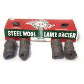 Pack of 16 Steel Wool Pads - Fine - # 0