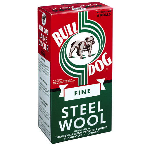 Fine Steel Wool Pads - #0 - 6-Pack