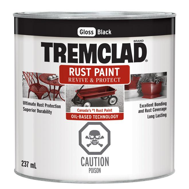 Tremclad(R) - Rust Paint - 237 Ml - Gloss Black
