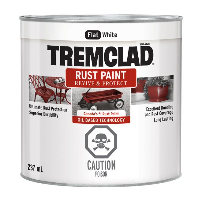 Antirouille, Tremclad(MD), 237 ml, blanc mat