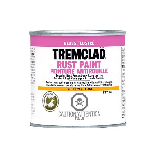 Tremclad(R) - Rust Paint - Gloss Finish - 237 Ml - Yellow