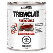 Peinture antirouille Tremclad, 946 ml, blanc, fini lustré