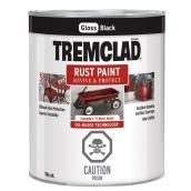 Tremclad Rust Paint - 946 ml - Black - Gloss Finish