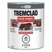 Peinture antirouille Tremclad, 946 ml, gris, fini lustré