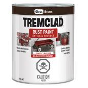 Tremclad Rust Paint - 946 ml - Brown - Gloss Finish