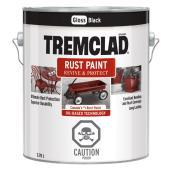 Tremclad(R) - Rust Paint - 3.78 L - Gloss Black