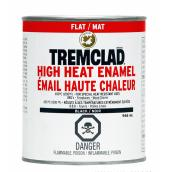 Tremclad High Heat Enamel - 946 ml - Flat Black