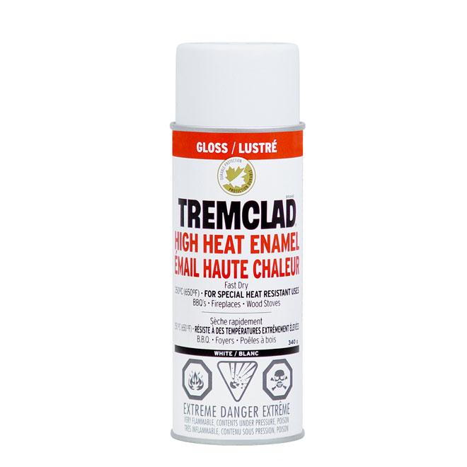 High Heat Spray Paint 340g - Glossy White