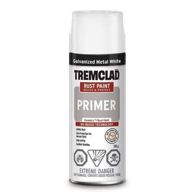 Tremclad(R) Rust Primer Spray - Aerosol - 340 g - White