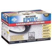 EpoxyShield® Garage Floor Coating - Glossy Grey