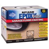 EpoxyShield® Garage Floor Coating - Glossy Tan