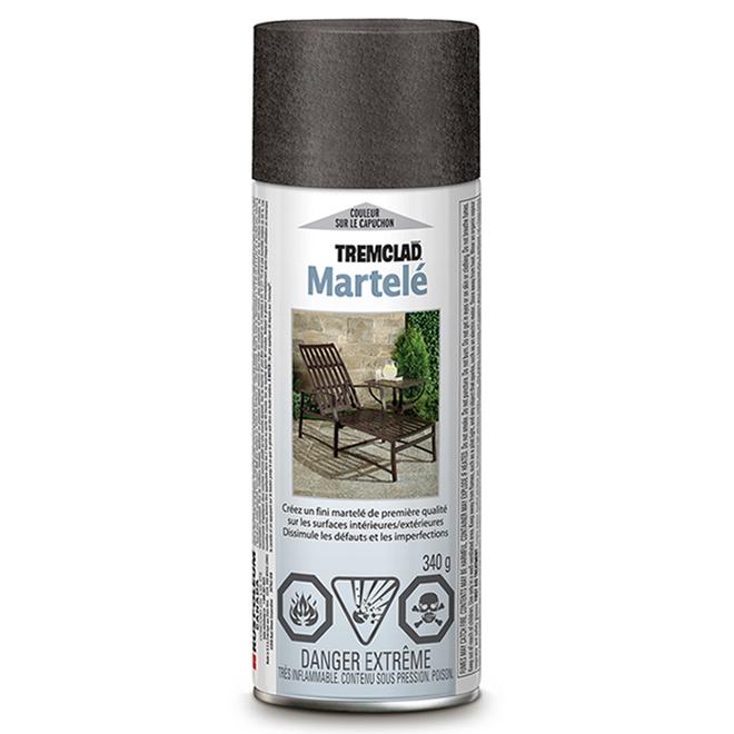 Tremclad - Antirust Paint - 340 g - Hammered Finish - Grey