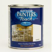 Painter's Touch Multi-Purpose Brush-On Paint - Water-Based - Semi-Gloss - White - 946 ml