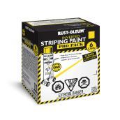 Rust-Oleum 6-Pack 510 g Aerosol Inverted Striping Paint