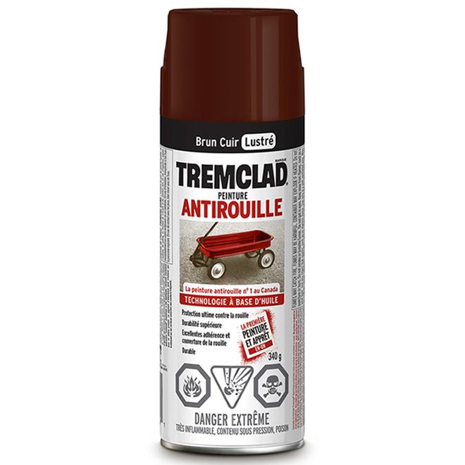 Peinture antirouille, Tremclad, 340 g, fini mat, cuivre brun