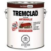 Peinture antirouille, Tremclad, 3,78 l, fini mat, cuir brun