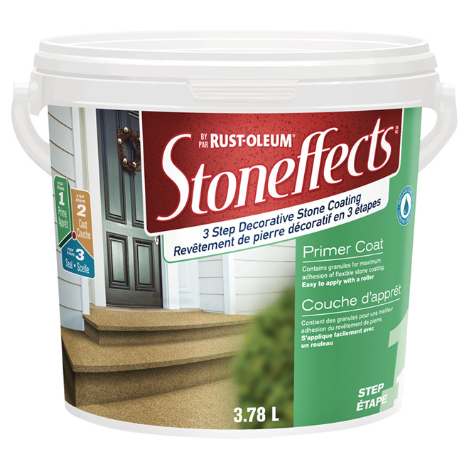 """Stone Effects"" Primer Coating - Step 1"