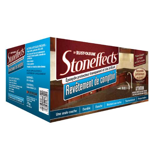Fini comptoir Stoneffects(MC) - 3e étape, 1,2 l, clair