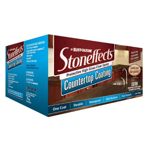 Stoneffects(TM) Countertop Coating - Step 3 - 1.2 L - Clear