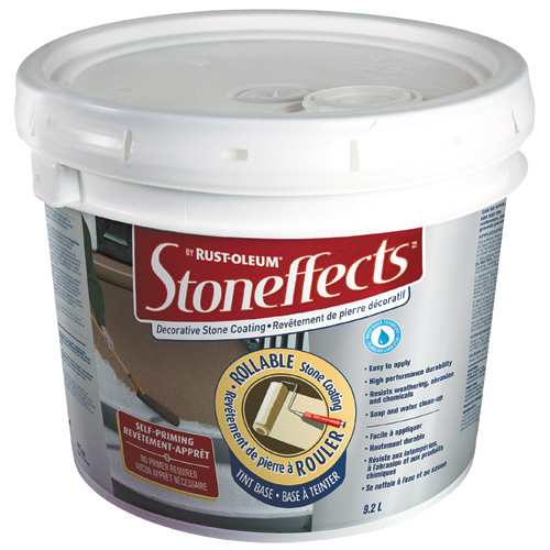 """Stoneffects"" Rollable Stone Coating"