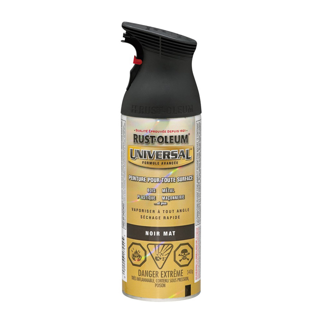 RUST-OLEUM Black Spray Paint 246434 | RONA
