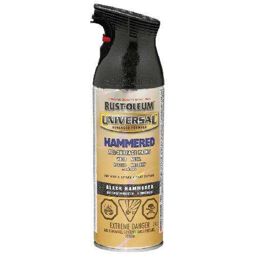 Hammered Black Spray Paint