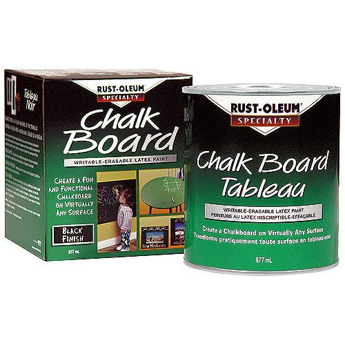 Rust-Oleum - Chalkboard Paint - 877 mL - Black