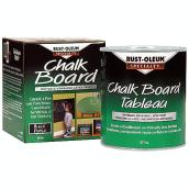 Rust-Oleum - Chalkboard Paint - 877 mL - Black