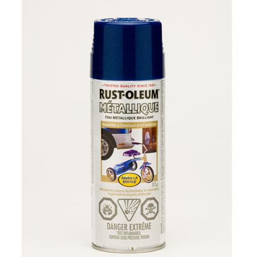 Émail métallique, Rust-Oleum, 312 g, bleu cobalt