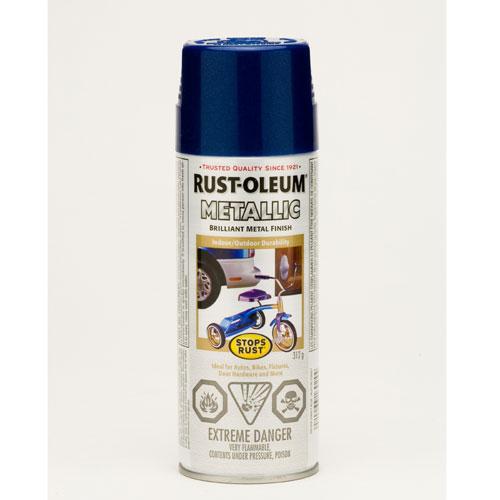 Rust Oleum - Metallic Enamel Paint - 312 G - Cobalt Blue